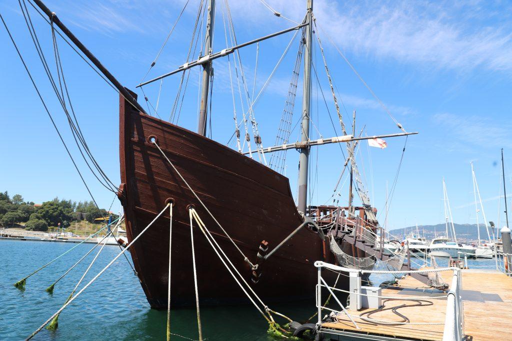 Die Pinta: Ein Schiff aus der Expedition von Columbus.